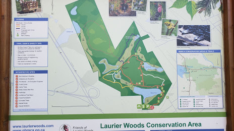 Laurier Woods Conservation Area North Bay ON